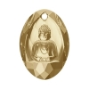 Swarovski Pendant 6871 Buddha 28x19.8mm Golden Shadow Crystal